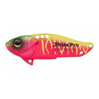 Блесна-Цикада Strike Pro Cyber Vibe 45, 45 мм, 9,1 гр, цвет: Watermelon Mat Tiger, (JG-005C#A230S)