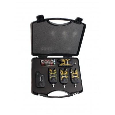 Набор электронных сигнализаторов поклевки EastShark камуфлированный TLI-22 (4+1)