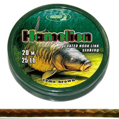 Поводковый материал Katran HAMELION 25Lb 20м в оболочке