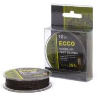 Поводковый материал Nautilus Ecco 25lb 10м Camou Brown
