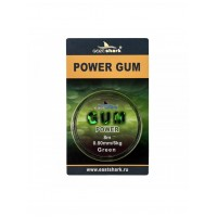 Фидергам для фидера POWER GUM green 8 м 0,8 мм