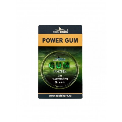 Фидергам для фидера POWER GUM green 1.0 mm, 7m