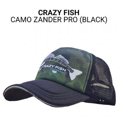 Кепка тракер Crazy Fish Camo Zander Pro bl M универсальный размер