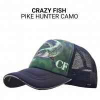 Кепка тракер Crazy Fish Pike Hunter Camo M универсальный размер