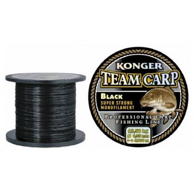 Леска KONGER TEAM CARP BLACK 1000м 0.25мм