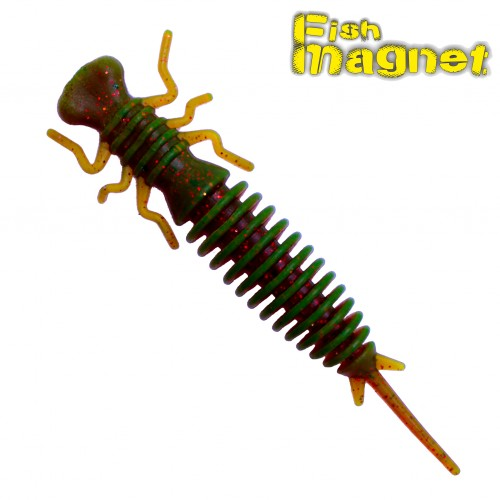 "Личинка стрекозы Fish Magnet LUCY 2"" #001"
