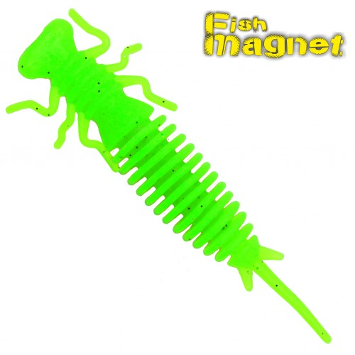 "Личинка стрекозы Fish Magnet LUCY 3.5"" #125"