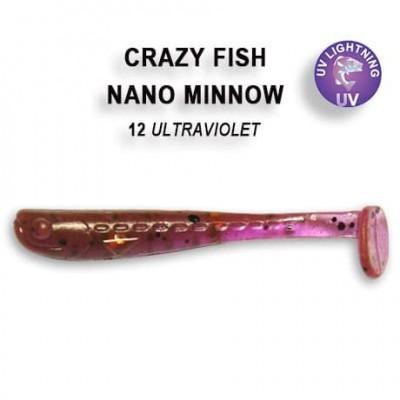 "Nano minnow 1.6"" 6-40-12-6"
