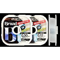 Леска OWNER BROAD Silver Eye, светло-серый, 100м, 0.22mm