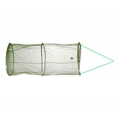 Садок Flagman Keepnet 2мм Green Mesh d30см 3 кольца
