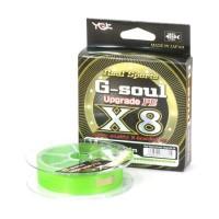 Плетеный шнур YGK G-Soul Upgrade PE х8, #0.8, 150 м, зеленый