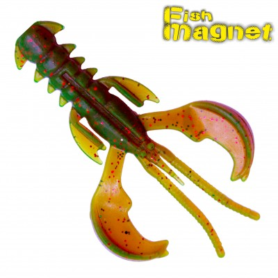 """Виброхвост Fish Magnet SHREDER 1.6"""" #001"""