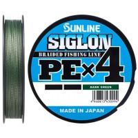 Шнур Sunline Siglon PE х4 150m #1.0/0.171mm 16lb/7.7kg темно-зеленый