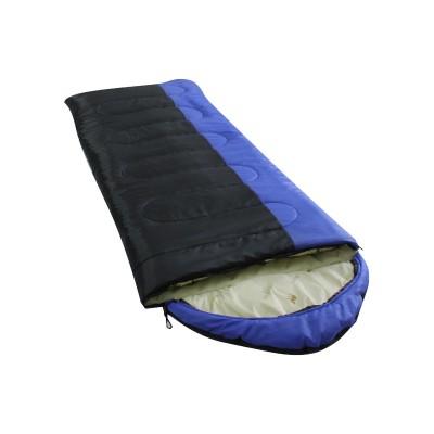 Спальный мешок Balmax Alaska Camping Plus 230x85 см с подголовником (-5°С) Cиний