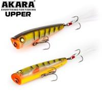 Воблер поппер Akara Upper 65F, 7гр., цвет A47