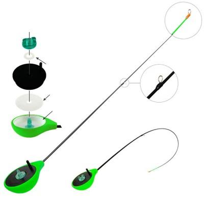 Удочка зимняя Akara Finezza RBS (1-4гр), зеленая