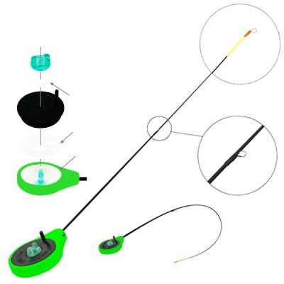 Удочка зимняя Akara Finezza SPS (1-4гр), зеленая