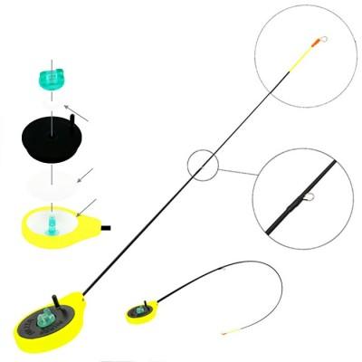 Удочка зимняя Akara Finezza SPS (1-4гр), желтая