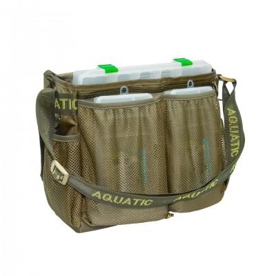 Сумка AQUATIC СК-15 с 3 коробками (FisherBox)