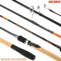 Спиннинг Akara Black Hunter (4-18) ML 2.28 м