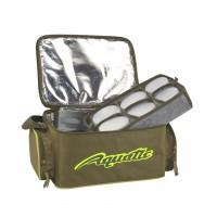 Термо-сумка Aquatic С-43Х с банками 12 шт. (цвет: хаки, размер: 32х23х21 см.)