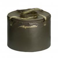 Ведро AQUATIC В-07Х для замешивания корма герметичное, с крышкой (цвет: хаки)