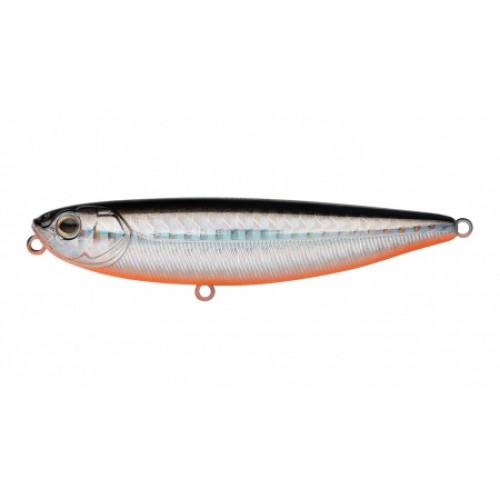 Воблер Волкер Strike Pro Water Strike 85, 85 мм, 12,2 гр, Плавающий, цвет: A70-713 Black Silver OB, (EG-226#A70-713)